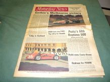MOTORING NEWS 1974 February 21 Sandown F5000, Daytona 500, BRM P201